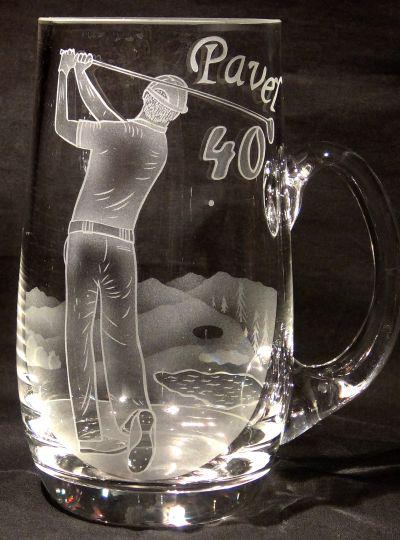 photo: Dárek golfistovi k 40. narozeninám