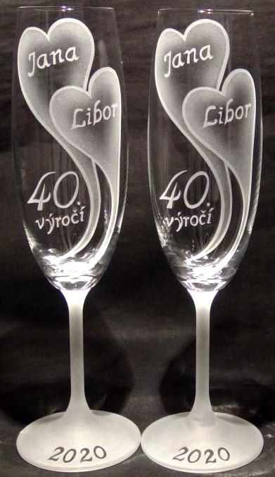 photo: Dárek k 40. výročí Janě a Liborovi