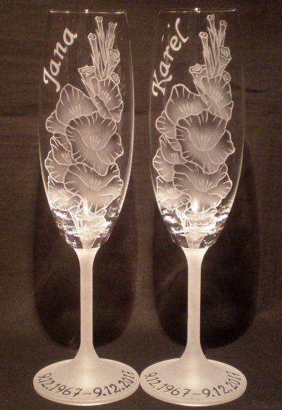 photo: Dárek k výročí - Gladioly