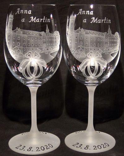 photo: Dárek ke svatbě Anně a Martinovi