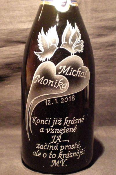 photo: Dárek ke svatbě pro Moniku a Michala