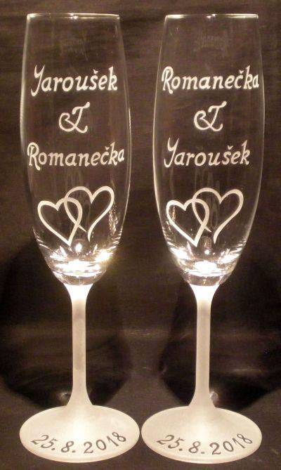 photo: Dárek ke svatbě Romanečce a Jarouškovi