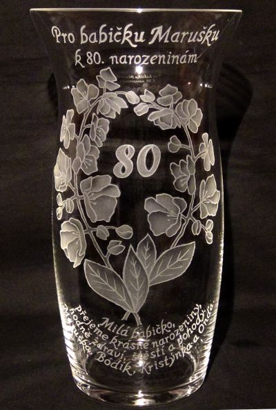 photo: Orchideje k 80. narozeninám babičky