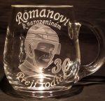photo: Dárek hokejistovi Romanovi