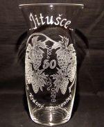 photo: Dárek Jitušce - váza s hrozny vína