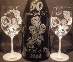 photo: Dárek k výročí 50 let Marcela a Rii