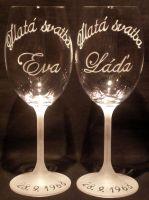 photo: Dárek k výročí Evě a Láďovi