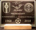 photo: Dárek k výročí fotbalistům z Německa