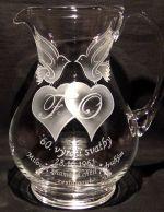 photo: Dárek k výročí diamantové svatby - džbán
