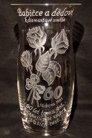 photo: Dárek k výročí diamantové svatby - váza