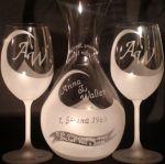 photo: Dárek k výročí - Karafa a sklenice Lara