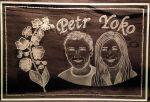 photo: Dárek pro Petra a Yoko