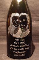 photo: Dárek - šampáňo svatebčanům