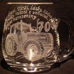 photo: Dárek traktoristovi k 70. narozeninám
