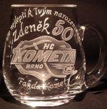 photo: Dárek Zdeňkovi, fandovi Komety