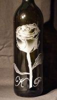 photo: Krásná růže s monogramy