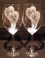 photo: Monogramy na sklenicích Lara 350 ml