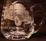 photo: Motiv s historickým hasičským vozem