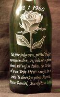 photo: Růže a slogan