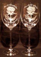 photo: Růže na obřích číších