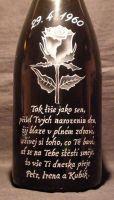 photo: Růže na šampáňu 1,5 l