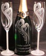 photo: Šampaňské 0,7 a sklenice Forum