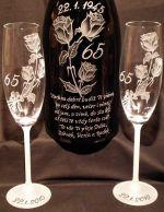 photo: Šampaňské a slogan na přání