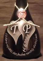 photo: Slogan na atipické lahvi.