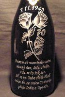 photo: Slogan na šampaňském..