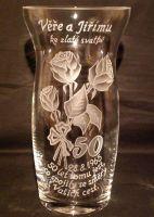 photo: Váza ke zlaté svatbě
