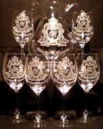 photo: Vinařství Hanzel na sklenicích a džbánu