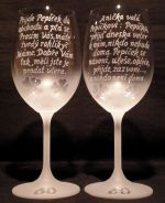 photo: Vtipy na sklenicích